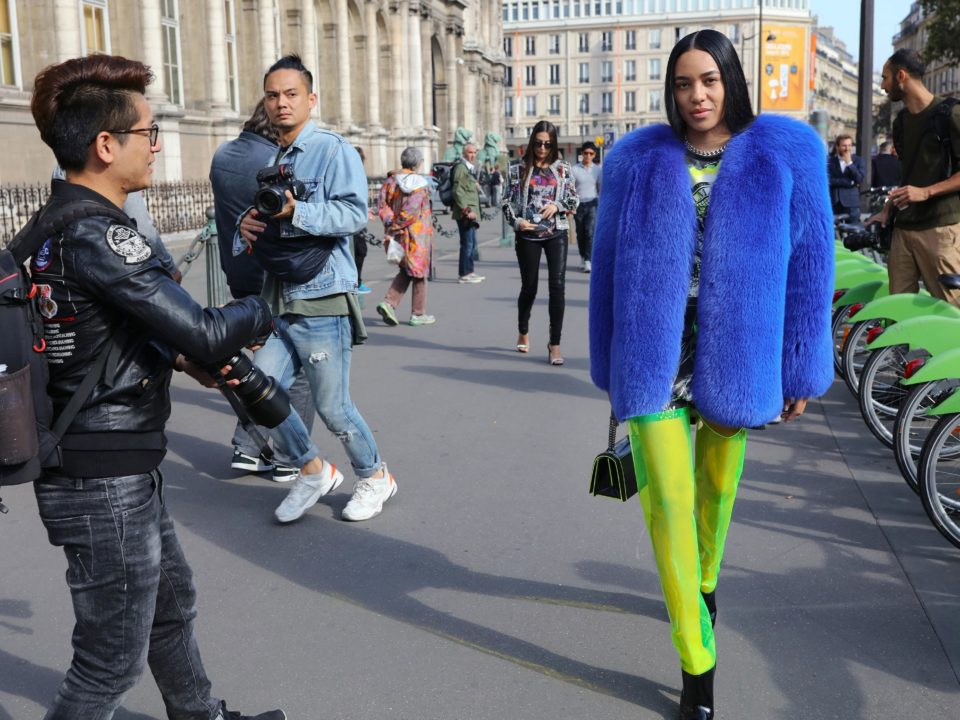 moda en neón