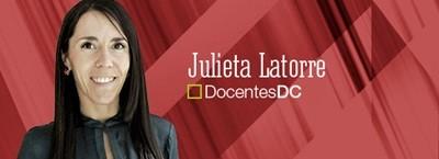 Julieta Latorre docente universidad de palermo