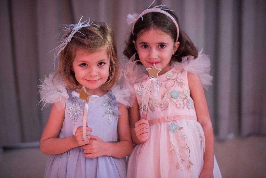 alta costura para niñas