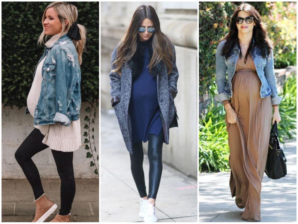 Outfits con onda para embarazadas