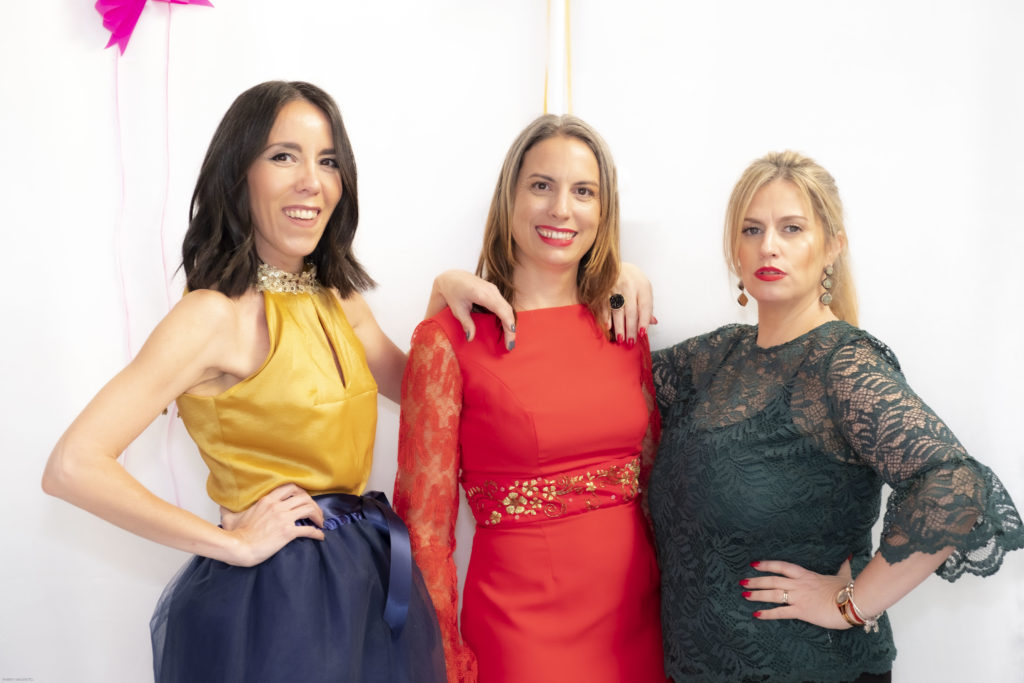 Mujeres en el evento
