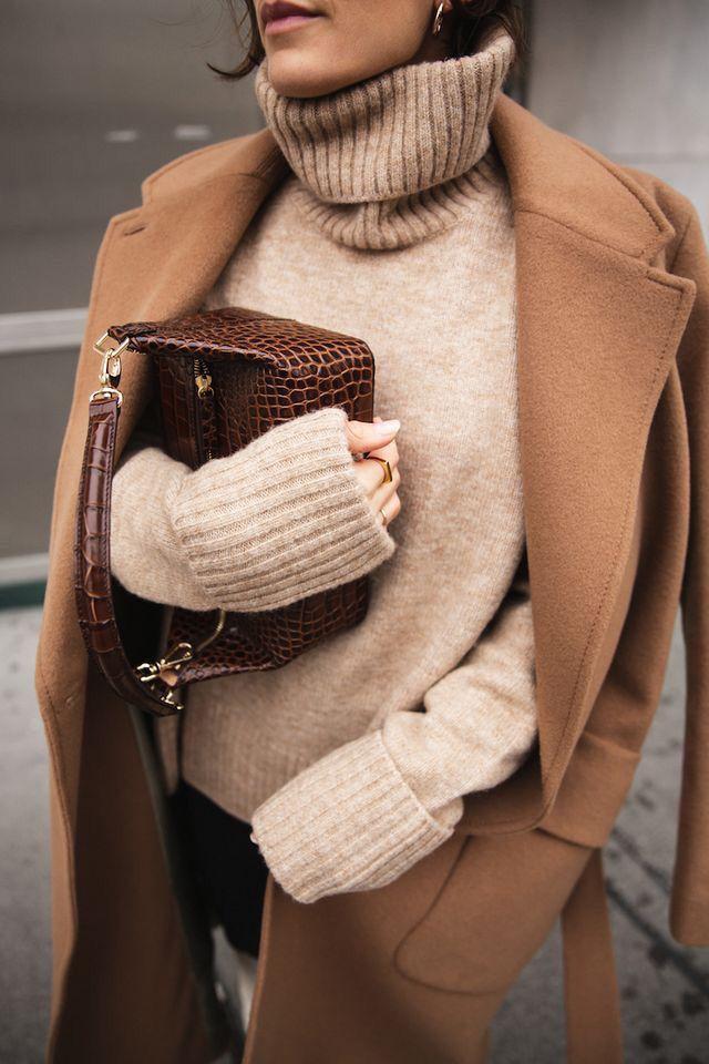 Como vestir en beige este otoño invierno